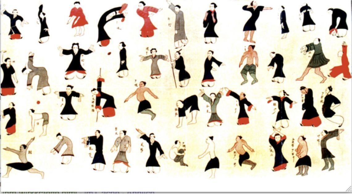 Huatuo Five Animals Daoyin Shu - Yangsheng - Neidan